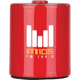 iRock Rechargeable Bluetooth Speaker Printed with Your Logo