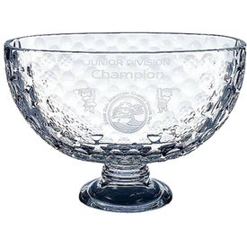 Italian Crystal Golf Trophy (Large)