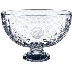 Italian Crystal Golf Trophy (Large)