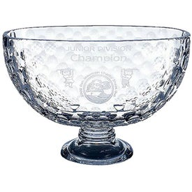 Italian Crystal Golf Trophy (Medium)
