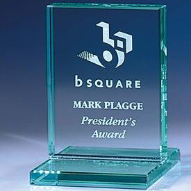 Jade Award with Jade Base for Your Company