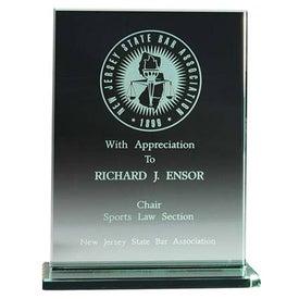 "Jade Award with Jade Base (6 1/2"" x 8 3/8"", Vertical)"