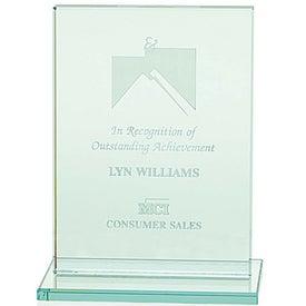 Printed Jade Award with Jade Base