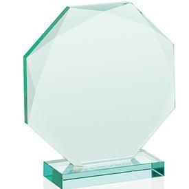 Imprinted Jade Octagon Award