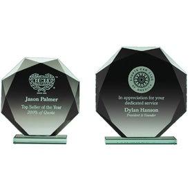 "Jade Octagon Award (5.5"" x 6.25"" x 2"")"