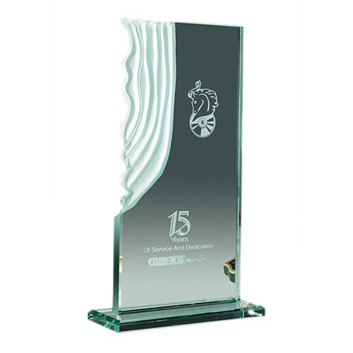 Jade Sculpted Waterfall Award