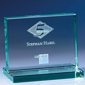 Promotional Jade Award with Jade Base