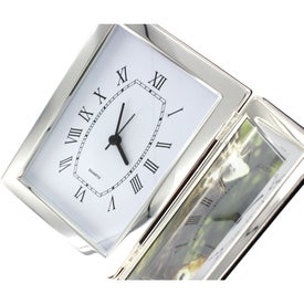 Branded Jadis I Photo Frame and Hinged Clock