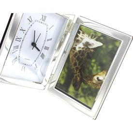Personalized Jadis I Photo Frame and Hinged Clock