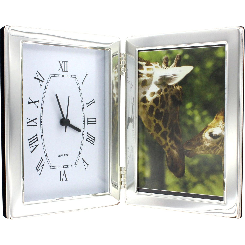 Promotional 4 X 6 Jadis I Photo Frame And Hinged Clocks With
