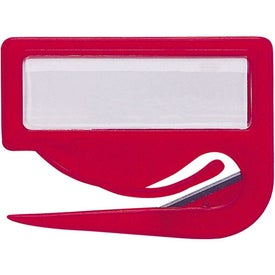 Promotional Jiffi Slitter, Paper Insert and Lens