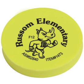 Promotional Jo-Bee Round Eraser