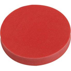 Personalized Jo-Bee Round Eraser