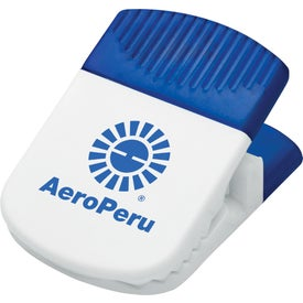 Jumbo Magnetic Memo Holder/Clip with Your Logo