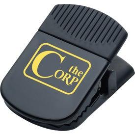 Custom Jumbo Magnetic Memo Holder/Clip