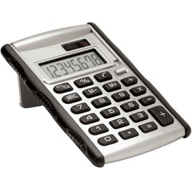 Large Flipper Calculator Imprinted with Your Logo