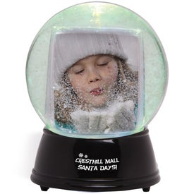 Large Light Up Snowglobe Imprinted with Your Logo