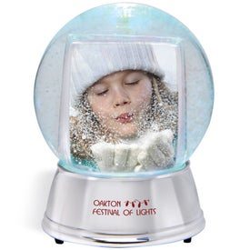 Advertising Large Light Up Snowglobe