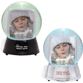 Large Light Up Snowglobe for Your Organization