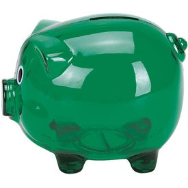 Large Piggy Bank for Advertising