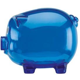 Monogrammed Large Piggy Bank