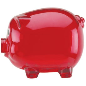 Large Piggy Bank Imprinted with Your Logo