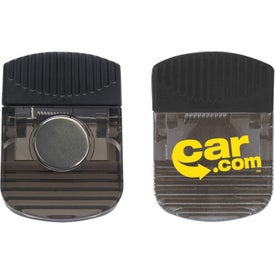Imprinted Large Rubber Grip Clip