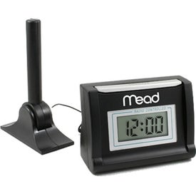 Logo LCD Radio Control Clock
