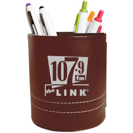 Advertising Leatherette Folding Caddy