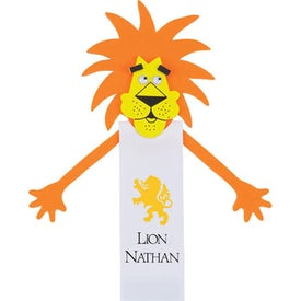 Leonardo Lion Bookmark