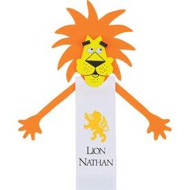 Leonardo Lion Bookmark