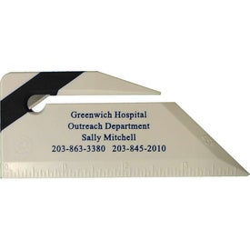 Imprinted Letter Opener Ruler