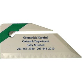 Letter Opener Ruler for Marketing