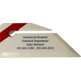 Letter Opener Ruler Imprinted with Your Logo