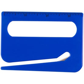 Monogrammed Letter Opener with Magnifying