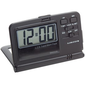 Promotional Lightweight Travel Alarm Clock