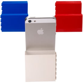 Branded Logo-Blox Phone Stand