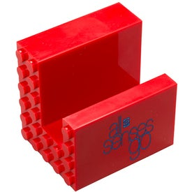 Personalized Logo-Blox Phone Stand
