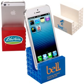 Imprinted Logo-Blox Phone Stand