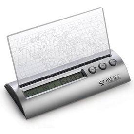 Monogrammed Longitude Clock