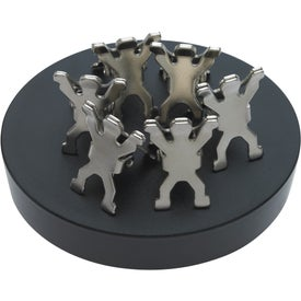 Branded Magnet Base with Clips