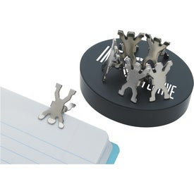 Advertising Magnet Base with Clips