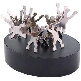 Monogrammed Magnet Men Clips