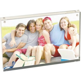 """Printed 4"""" x 6"""" Magnetic Acrylic Frame"""