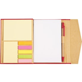 Magnetic Closure Sticky Note Booklet for Customization