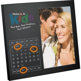 Magnetic Frame With Perpetual Calendar Branded with Your Logo