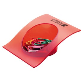 Branded Magnetic Paper Clip Tray