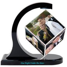 Magnetic Photo Cube Spinner for Marketing