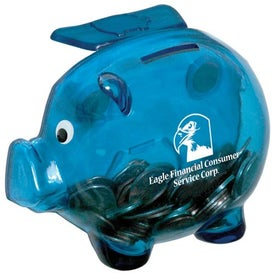 Magnetic Piggy Bank for your School