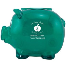 Magnetic Piggy Bank Imprinted with Your Logo